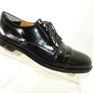 Cole Haan Size 9.5 D Black Cap Toe Mens B7 B36